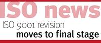 ISO News: ISO Revision Moves To Final Stage